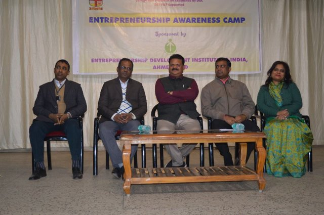Entrepreneurshirp Awareness Camp 2019- Valedictory Function 18-Jan-2019
