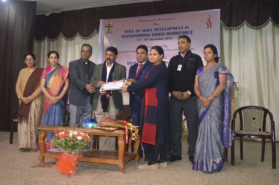 National Seminar on Skill Development held on 13th & 14th December 2019